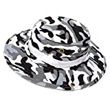 Mens Outdoor Camouflage Fishing Snap Brim Military Bucket Sun Boonie Hat Cap