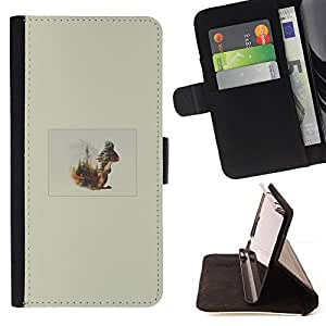 Jordan Colourful Shop - Squirrel Forrest For Apple Iphone 6 - Leather Case Absorci???¡¯???€????€???????????&A