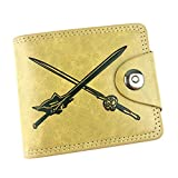 Gumstyle Sword Art Online Anime Cosplay 10 Slots Bifold Wallet Card Holder Purse 2