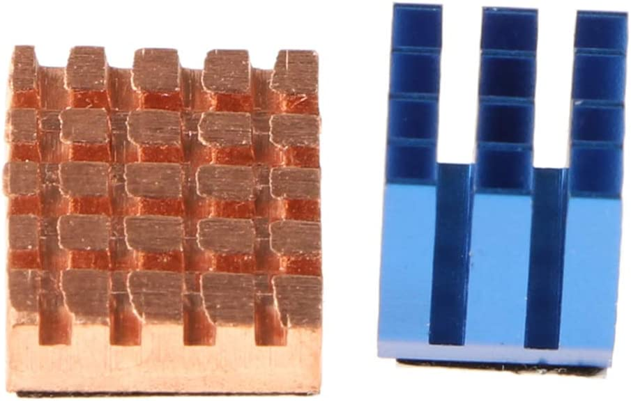 Homyl Copper Aluminium Cooling Kit Sinks with Thermal Pad for Raspberry Pi