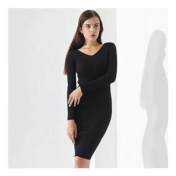 magasiner pour l'original New York Site officiel SHUCHANGLE Robe Pull Robe Pull Femme Mince Pull Vêtements ...