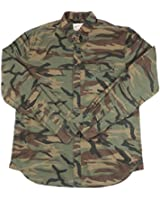 Field and Stream Outfitters Military / Hunting Camouflage Button Down Shirt