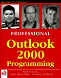 img - for Professional Outlook 2000 Programming : With VBA, Office and CDO book / textbook / text book