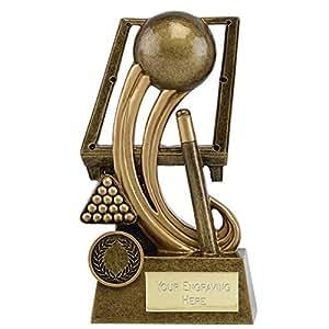 6,5de snooker y piscina trofeo con grabado hasta 30letras a1703C