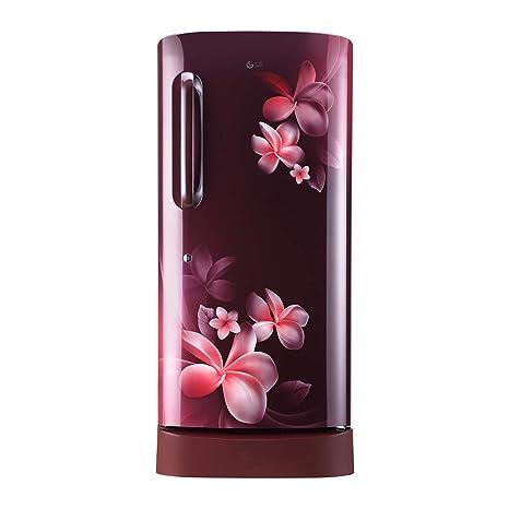 c48f1057f18 LG 215 L 5 Star Inverter Direct Cool Single Door Refrigerator (GL-D221ASPY