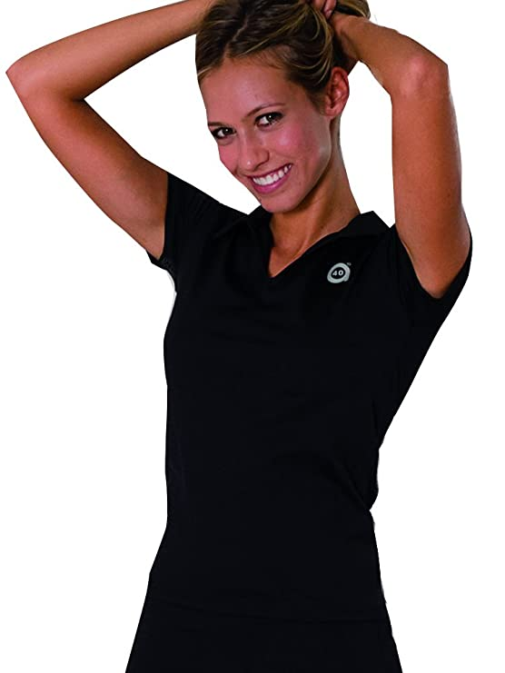 a40grados Sport & Style Paris Polo, Mujer, Negro, 36: Amazon.es ...