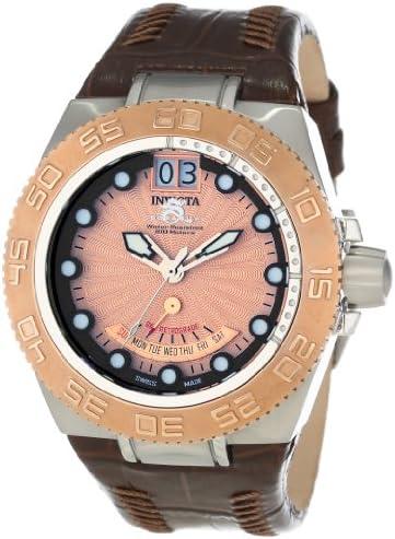 Invicta Men s 10875 Subaqua Leather Watch