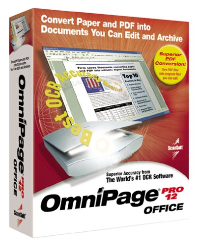 Upgrade-v Omnipage Pro 12 Office Edition