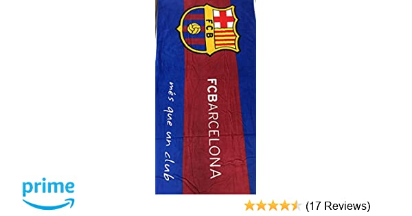 Amazon.com: MES QUE UN CLUB FC Barcelona Soccer Team Beach Towel: Home & Kitchen