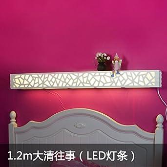 Wandleuchte Pastoral Warm Platz Lampe Mit Schalter Dimmer Schlafzimmer  Nachttischlampe Wohnzimmer Lampe Spiegel Frontleuchte Kinderzimmer 1