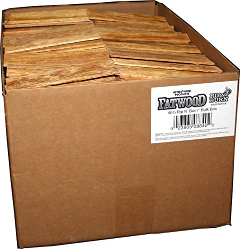 Better Wood Products 08840 Fatwood Rip & Burn