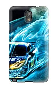 Hot Tpu Cover Case For Galaxy/ Note 3 Case Cover Skin - Drift Racing