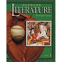 Amazon mcgraw hill literature fiction books glencoe literature 2002 course 3 grade 8 the readers choice fandeluxe Gallery