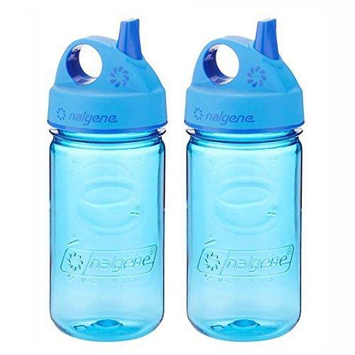 Nalgene Tritan Grip-N-Gulp Kids Water Bottle, Purple - 2