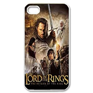 Steve-Brady Phone case Lord Of The Rings For Iphone 4 4S case cover Pattern-13