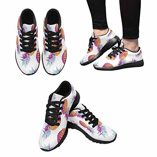 InterestPrint Womens Jogging Running Sneaker Lightweight Go Easy Walking Comfort Sports Running Shoes Multi 10 M5MDABgLy