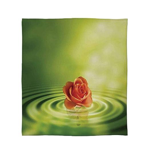 C COABALLA - Manta cómoda, Color Rosa, para sofá, Viaje, tamaño de ...