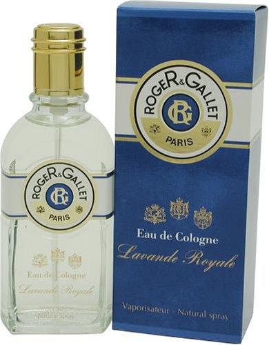 Roger & Gallet Lavende Royale By Roger & Gallet For Men and Women. Eau De Cologne Spray 3.4 - Eau Marie Cologne Farina De