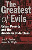 The Greatest of Evils : Urban Poverty and the American Underclass, Devine, Joel A. and Wright, James D., 0202304744