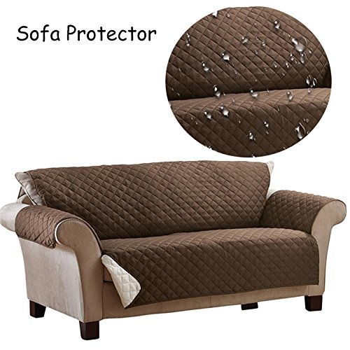 Waterproof Sofa Protector Cover Anti-skid Dirt-proof Suede Pet Dog Cushion Mat Sofa Slipcover