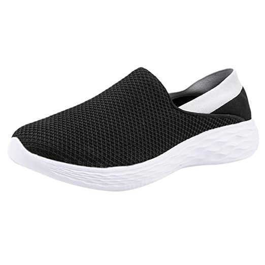 08290781d3ddd Amazon.com: Hurrybuy Men Outdoor Sneakers Mesh Breathable Sports ...