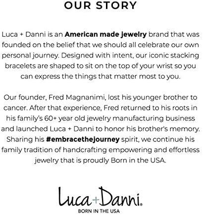 Luca + Danni | Heart Medley Bangle Bracelet For Women Made in USA