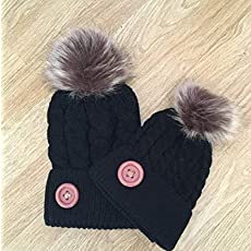 Mommy and Me Hats Mother Daughter Hats matching outfit mom and me hats  Beanies. 481521676c9