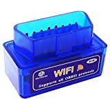 Amazon Price History for:Car Wifi OBD 2, Mini OBD2 Scan Tool, Wsiiroon Mini Car OBD2 OBDII Scan Tool Auto Diagnostic Scanner Code Reader/Scan Tool Check Engine Light for IOS & Android (Blue)