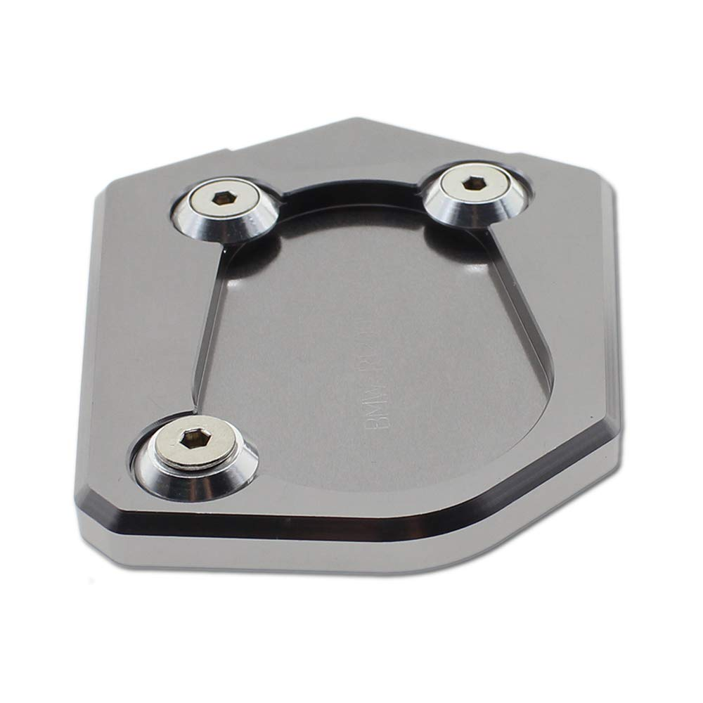 Krace Motorcycle Side Stand Sidestand Foot Enlarge Plate CNC Kickstand Extension Pad Universal for Motorcycle