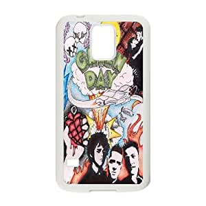 High Quality {YUXUAN-LARA CASE}Green Day Music Band For Samsung Galaxy S5 STYLE-6