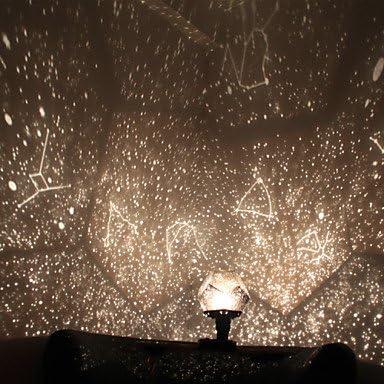 CLCJW Iluminación creativa,Cuatro estaciones estrellas proyector ...