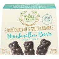 Whole Foods Market, Dark Chocolate & Salted Caramel Marshmallow Bears, 7 Oz
