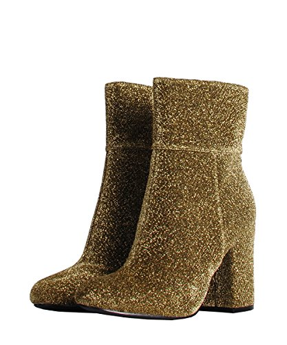 Steve Madden - zapatos mujer dorado