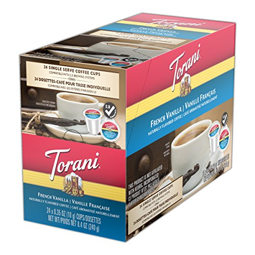 Pie Chocolate French - Torani Coffees, French Vanilla, 24 Count