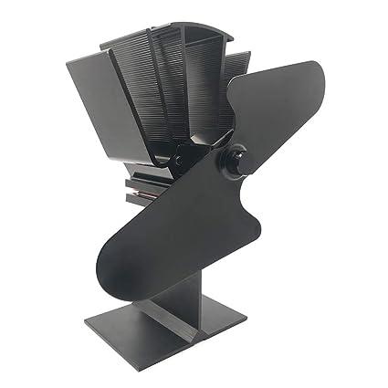 Besttse ventilador de estufa de leña/quemador de leña/chimenea de calefacción silenciosa y