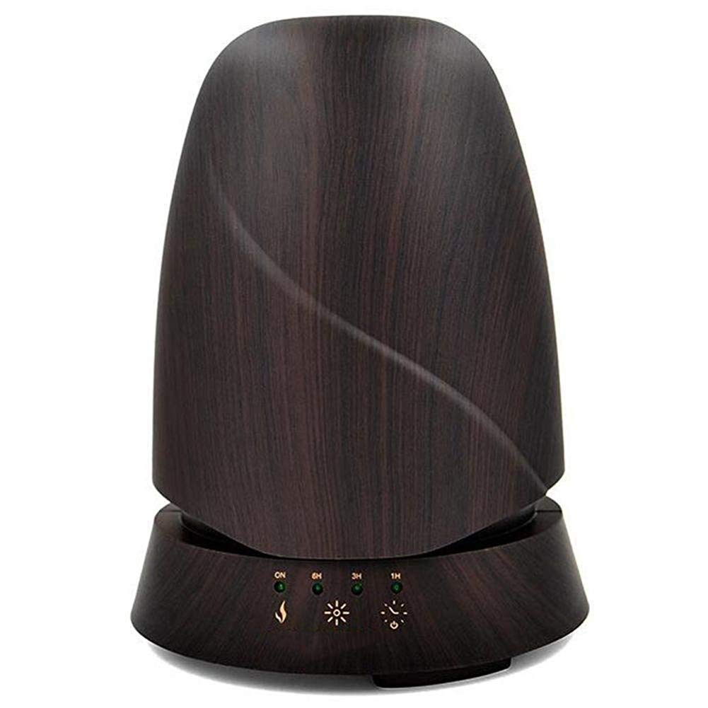 QSCA Ultrasonic Wood Grain humidifier 350ml Wood Grain Aromatherapy Machine humidifier Household atomized Oil Diffuser