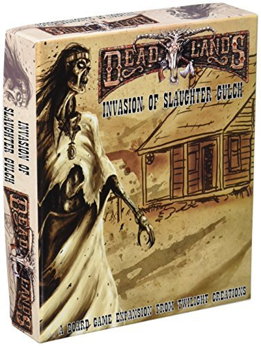 Deadlands 2 Invasion Of Slaughter Gulch Board Game by Twilight Creations