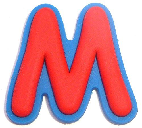 Letter M Shoe Rubber Charm Jibbitz Croc Style