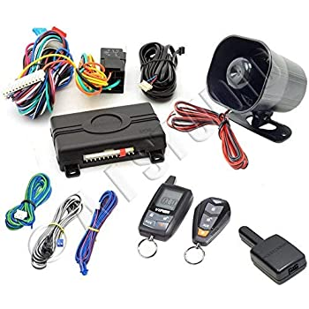 Amazon.com: Viper 3400V 3-Channel 1-Way Car Alarm Vehicle ...