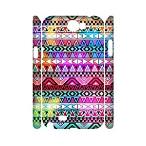 ALI Hard Aztec Tribal 3D Diy For Iphone 4/4S Case Cover [Pattern-1]