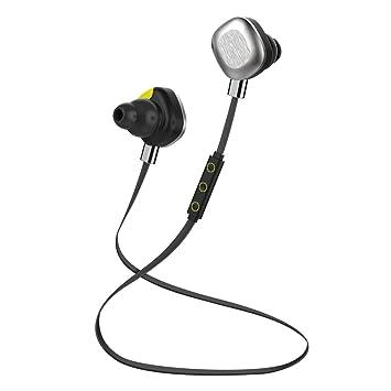 Amberetech Morul-u5plus IPX7 Grado impermeable V4.1 Bluetooth auriculares de botón de ruido
