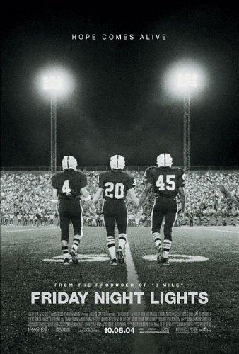FRIDAY NIGHT LIGHTS MOVIE POSTER 2 Sided ORIGINAL 27x40 BILLY BOB THORNTON