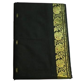 Sari Rotbraun Goldbrokat Wickelanleitung Tracht Indien Kleidung Kleidung & Accessoires Internationale Trachten