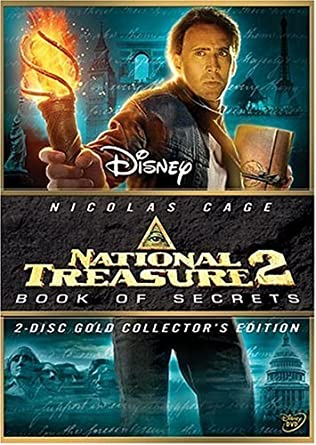 Amazon Com National Treasure 2 Book Of Secrets Dvd 2007 Region 1 Us Import Ntsc Movies Tv