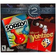 Yahtzee & Sorry Twice The Fun (Jewel Case) - PC