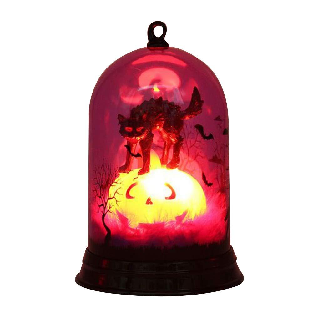 WSCOLL Decoración de Halloween Lámpara de Bruja Festival ...