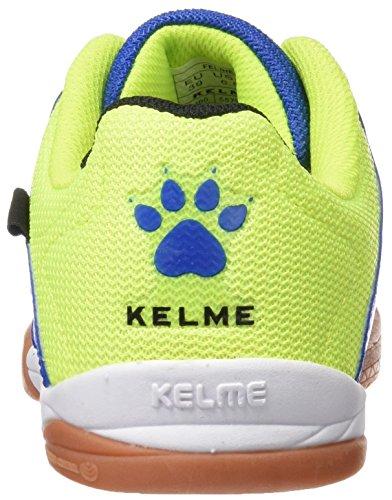 Kelme Feline 3.0, Botas de Fútbol para Hombre Lima / Azul