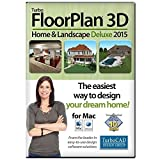 TurboFLOORPLAN Home & Landscape Deluxe Mac 2015 [Download]