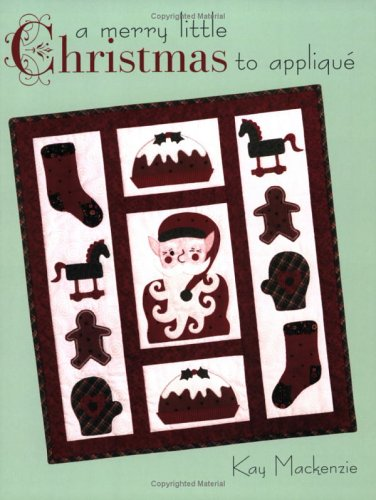A Merry Little Christmas to Applique