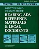 Reading Ads, Reference Materials and Legal Documents, Carolyn M. Starkey and Norgina Wright Penn, 0844251704